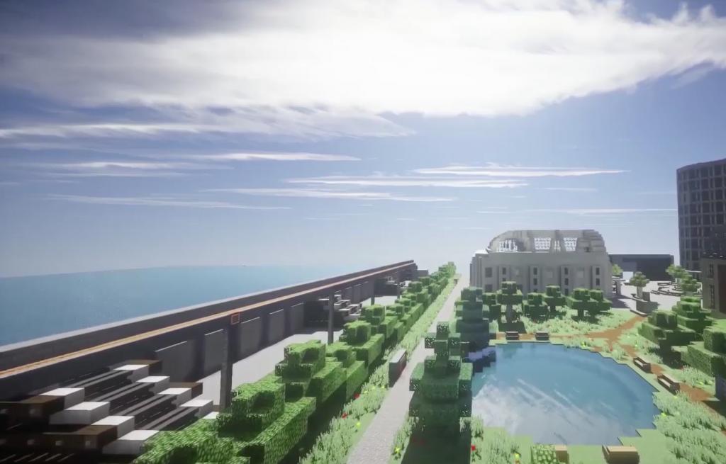 Minecraft Wettbewerb Meere und Ozeane
