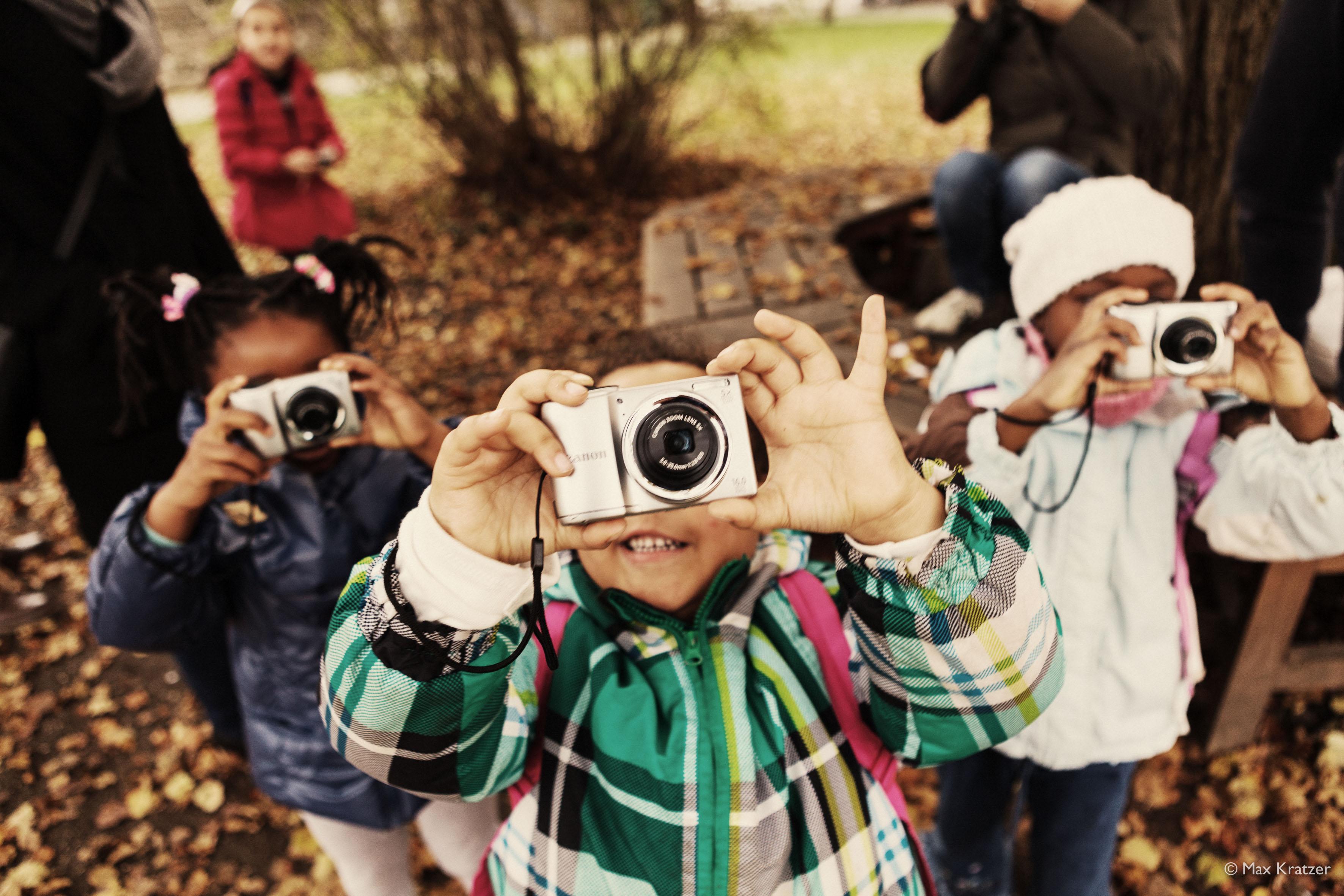 Fotoprojekte mit Flüchtlingen